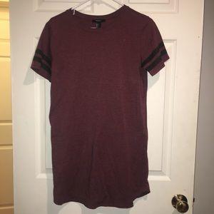 forever 21 tshirt dress